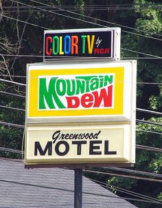 Greenwood Motel by SeeMidTN.com (because when I check in to a hotel I make sure they have Mountain Dew!)