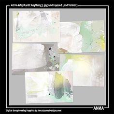 Oscraps :: Shop by Designer :: Anna Aspnes Designs :: 4 X 6 ArtsyKardz Anything #art #digitalart #scrapbook #photography