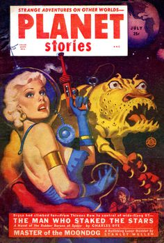 Amazing Stories Magazine - July 1952 #Pulp #Art #Cover #Vintage #SciFi