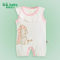 Find More Rompers Information about Sleeveless Baby Girl Newborn Baby Romper Infant Jumpsuit Summer Cotton Girl Floral Collar Character Rompers Baby For  Babies,High Quality lace underwear,China clothing mart Suppliers, Cheap lace crinoline from GG. Baby Flagship Store on Aliexpress.com