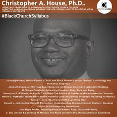 Christopher House shares his reading list for the Ithaca College, Communication Studies, Black Church, Worship Service, Reading Lists, The Unit, Learning, House, Haus