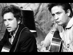 So beautiful it makes me cry.. My Grandpa's favorite musician has become mine too.. Johnny Cash of course.   True Love of Mine   Bob Dylan and Johnny Cash -- 'Girl From The North Country' - from the 1969 LP Nashville Skyline