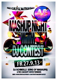 Mashup mit DJ Contest und dem King of Mashup - 27.09.13