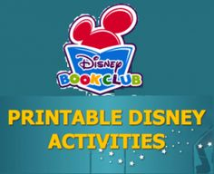Free Online Printable Activities for Kids from Disney Book Club Disney Activities, Printable Activities For Kids, Creative Activities, Disney Classroom, Classroom Themes, Disney Tips, Disney Fun, Disney Book Club, Toddler Class