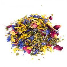Pikante Blütenmischung | 20g pikante Blütenmischung. Zutaten: Pfeffer grün 29%, Pfeffer rosa 29%, Majoran 11%, Rosenblätter, Liebstöckel, Ringelblüten, Kornblumen. Eine schöne Gewürzmischung zum Abrunden von Suppen, Salaten und Gemüse.