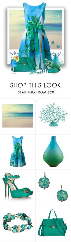 """""""Janlyn"""" by flattery-guide ❤ liked on Polyvore featuring P.A.R.O.S.H., Cyan Design, Jimmy Choo, Liz Palacios and Napier"""
