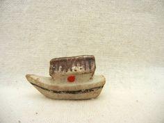 Vintage Miniature Noah's Ark Figurine