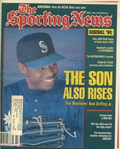 Ken Griffey Jr., Sporting News (April 1994) #Mariners