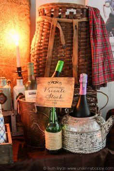 Outlander Party Ideas -plaid... lots of plaid