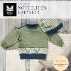 DG359-01 Malene Genser & tights – Dale Garn Baby Barn, Baby Knitting, Tights, Pullover, Sweaters, Fashion, Knitting, Dots, Tejidos