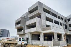 ensicaen_vib_chantier_mars2014_1000-2 Construction, Architecture, Multi Story Building, Building, Arquitetura, Architecture Design