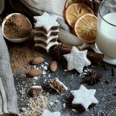 These gluten-free and dairy-free Cinnamon Stars aka Zimtsterne are delicious AND gorgeous. They are sure to be a hit at any holiday gathering. https://yumgoggle.com/cinnamon-stars-aka-zimtsterne/