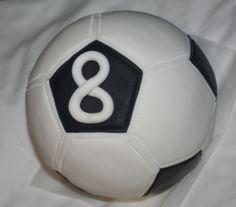 Rice Krispy's Soccer Ball Topper