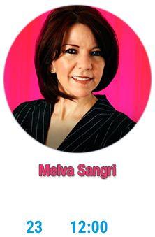 Melva Sangri hoy a las 12:00 en #Aldea Digital, disfrútala también en línea