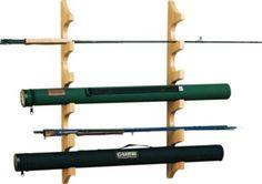 Cabela's Wall Fly Rod Rack