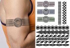 Hawaiian Armband Tattoo