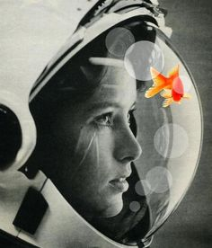 """Goldfish,"" a digital composition by Flamenco Sun"