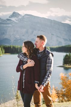 Stunning Banff Mountain Engagement | Terry Photo Co.