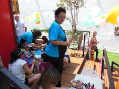 Dia das crianças na pracinha Oscar Freire