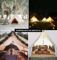 Glamping with the Shelter Co
