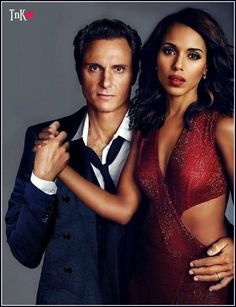 on Twitter Tony Goldwyn and Kerry Washington on SCANDAL