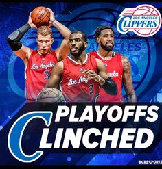 Guess who's the only LA team  going to the playoffs...the Clippers of course :) :)