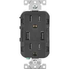 Leviton Decora USB Charging Outlet