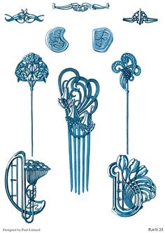 ART NOUVEAU JEWELRY DESIGNS By: Rene Beauclair - Welcome to Dover Publications  - Excerpt 5