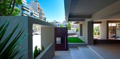 Apartment Building in Papandreou St. Crete, Desktop Screenshot, Mansions, House Styles, Building, Home Decor, Mansion Houses, Construction, Homemade Home Decor