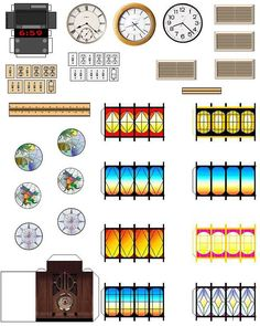 barbie dollhouse printables | com listing 112801326 miniature doll house furniture set http www etsy ...