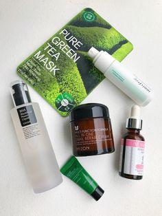 Acne Prone Skin K-Beauty Flatlay