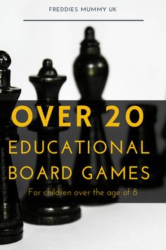 Over 20 of the BEST Educational Board Games for Kids in 2019 Over 20 of The Best Homeschool Games That Are Fun & Educational Educational Board Games, Board Games For Kids, Learning Through Play, Math Games, Recess Games, Learning Games, Fun Math, Fun Games, Home Schooling
