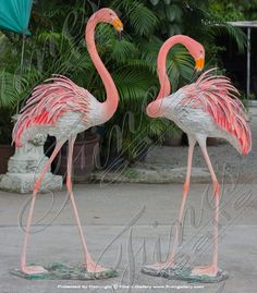 Flocking Flamingos Bronze Statues - Bronze Statue Animal