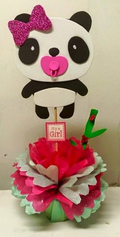 panda baby shower decorations - Buscar con Google