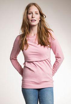 55cb6bf5d B.Warmer sweatshirt - Maternity top   Nursing top Nursing Sports Bra