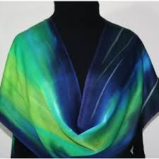 Image result for hand painted silk scarves