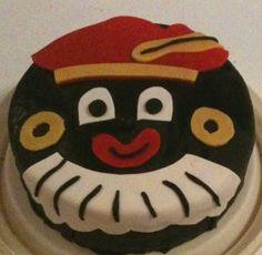 Zwarte Pieten taart