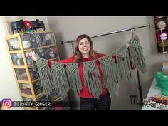 DIY Tutorial: Macrame Bunting / Banner Free Pattern by Crafty Ginger. Link download: http://www.getlinkyoutube.com/watch?v=pCL_TWewG6k