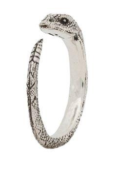 Pamela Love Serpent Ring - Coachella Style Outfit Ideas 2013 - ELLE