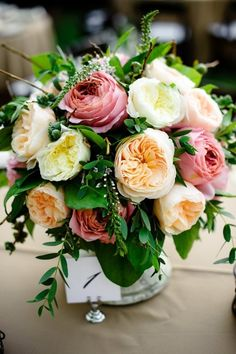 garden roses make the perfect garden wedding accompaniment   Photography By / aaroncourter.com, Wedding Coordination By / champagnenw.com, Floral Design By / zestfloral.com -repinned from http://L2weddingphotography.com   #weddingphotography#weddingphotographers