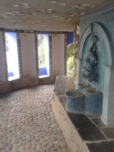 The Grotto at Portmeirion village in Wales William Ellis, Cymru, North Wales, Places To See, Castle, Building, Beautiful, Buildings, Palace
