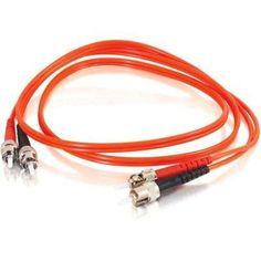 C2g C2g 3m St-st 62.5-125 Om1 Duplex Multimode Fiber Optic Cable (taa Compliant) - O