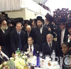 At Dov Hikind's Campaign Rally in the Brooklyn Armory