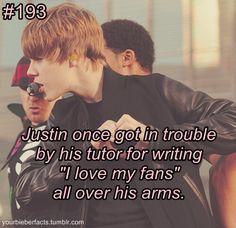 #BieberFacts