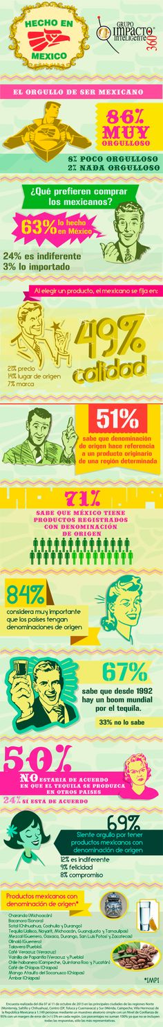Infografía Hecho en México