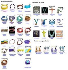Free micro macrame patterns : pendants, bracelets, necklaces and earrings