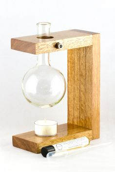 Walter Hand Made Oil Burner By Inscentive