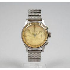 BOVET, rannekello, 1940-1950-luku. Gold Watch, Chronograph, Rose Gold, Watches, Accessories, Wristwatches, Clocks, Jewelry Accessories