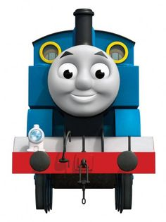 RoomMates RMK1832GM Thomas the Tank Engine Peel and Stick Giant Wall Decal with 3 Hooks