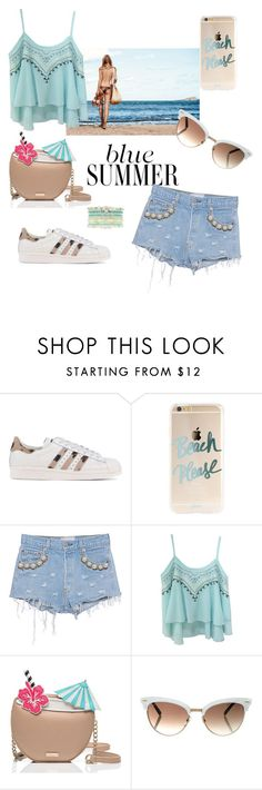 """""""EndlessSummer"""" by gubse-oz ❤ liked on Polyvore featuring adidas Originals, Forte Couture, Kate Spade, Gucci and Hipanema"""